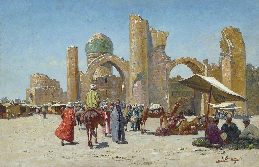 古波斯和马其顿的王朝、中国的汉唐皇帝、阿拉伯哈里发帝国,以及成